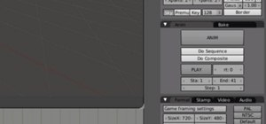 Add sound to an animation in Blender