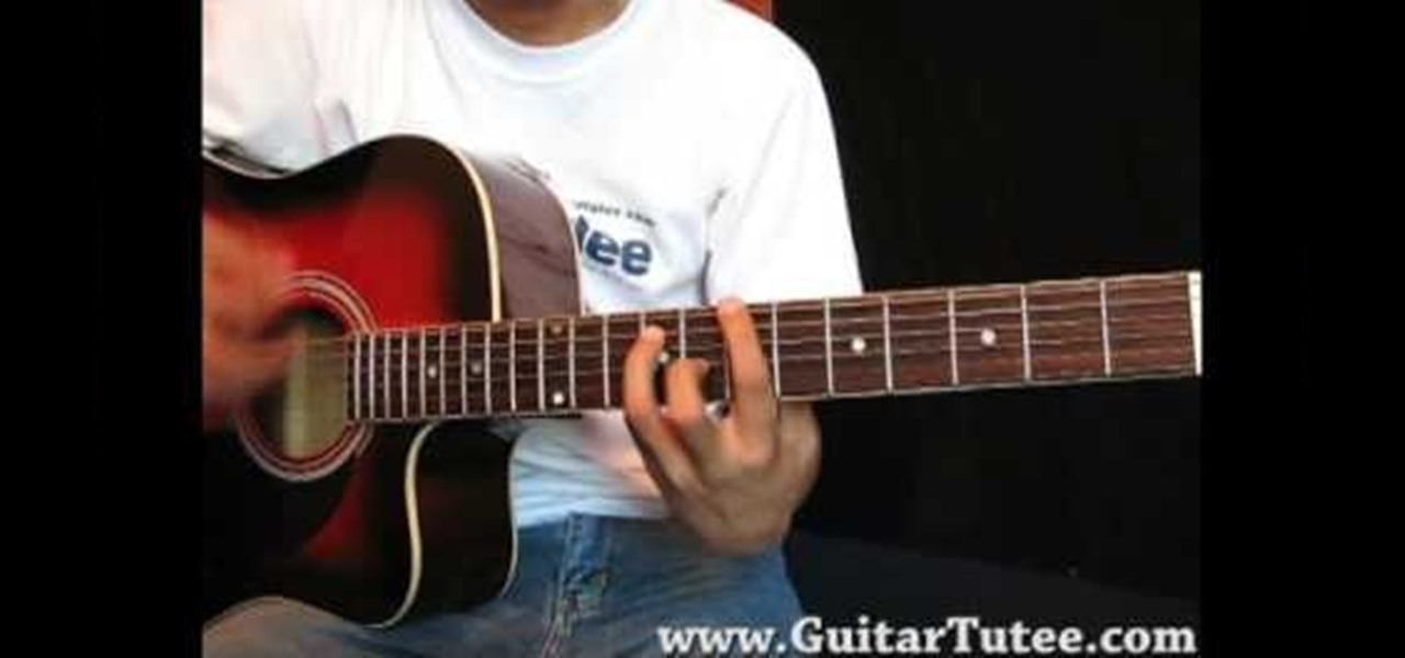 How To Play Heal Over By Kt Tunstall On Guitar Acoustic Guitar
