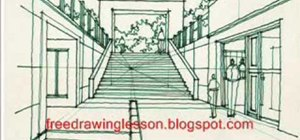 Draw steps in perspective