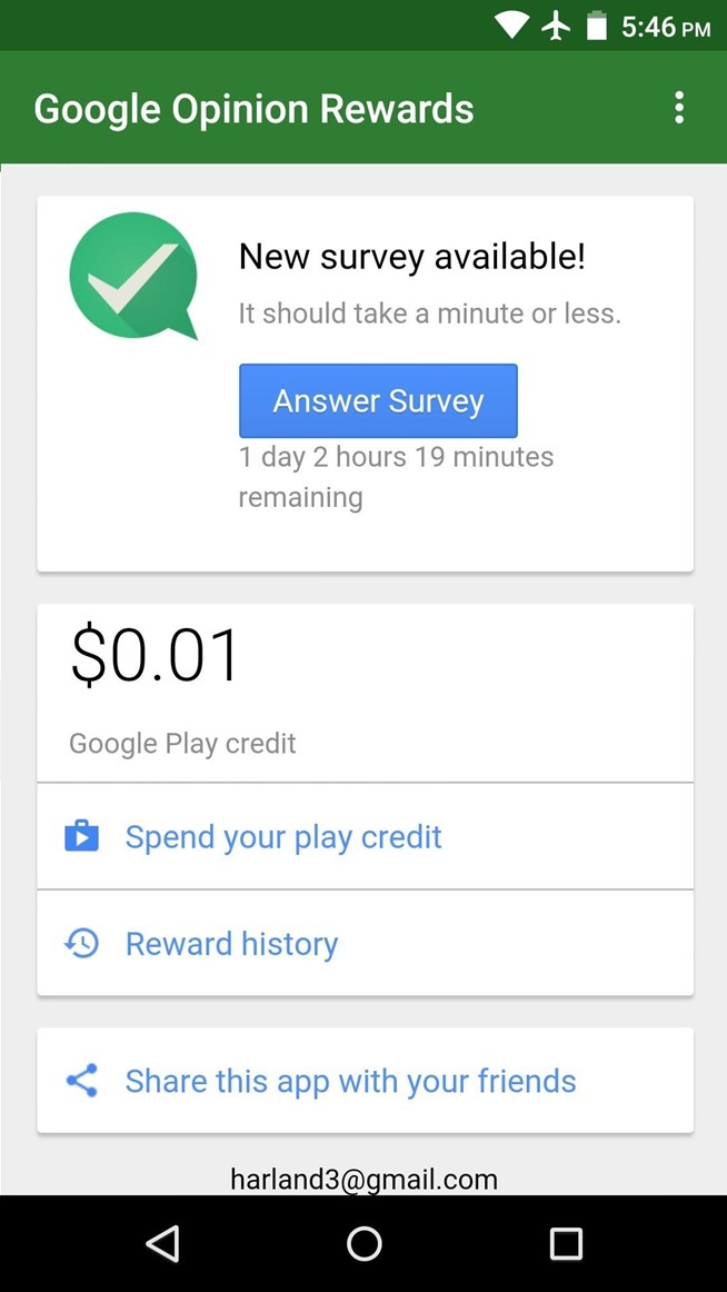 How to Earn Free Google Play Credits on Android by Filling Out Surveys