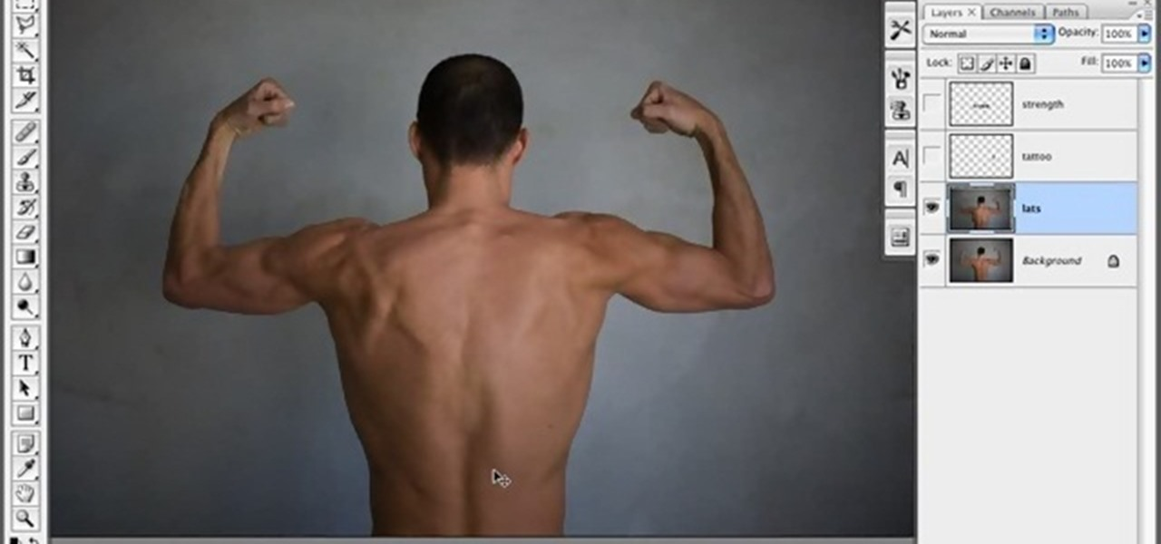 How To Create A Muscle Man In Photoshop 171 Photoshop