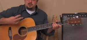 "Play ""Numb"" by Linkin Park on acoustic guitar"
