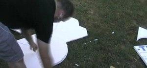 Build a breakaway tombstome prop