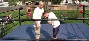 Do the Northern Lights Suplex pro wrestling move