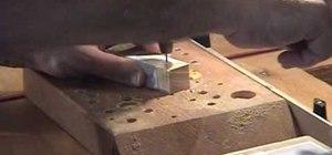 Make three-dimensional cuts with a scrollsaw
