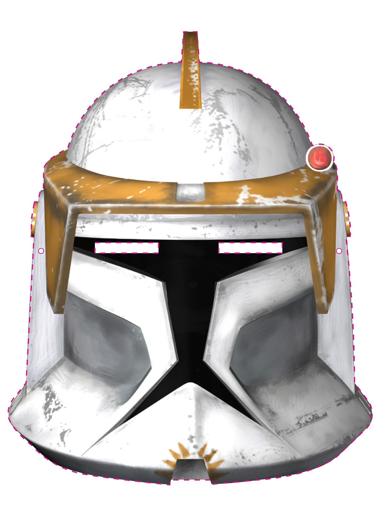 image relating to Star Wars Printable Masks identify Remaining-Second Halloween Quickie: 100+ Free of charge Printable Masks