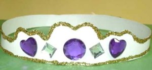 Craft a princess tiara with your kids