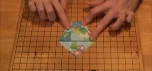 Origami a drinking cup