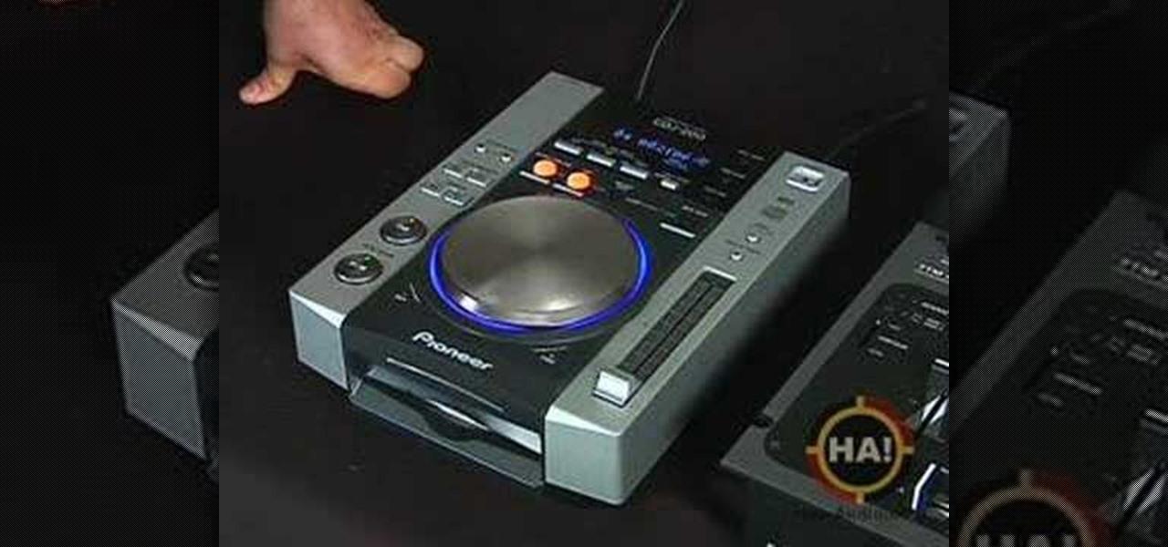 how to use the pioneer cdj 200 when you dj dj turntablism wonderhowto. Black Bedroom Furniture Sets. Home Design Ideas