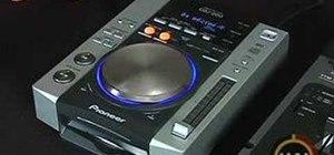 Use the Pioneer CDJ-200 when you DJ
