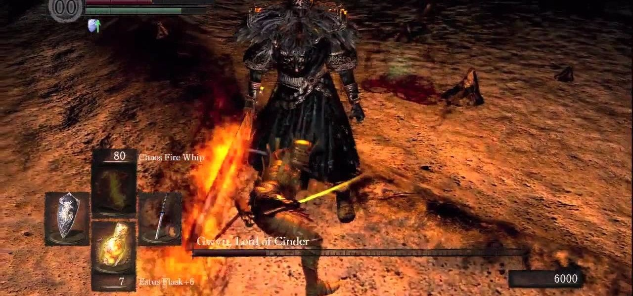 How to Beat Gwyn, Lord of Cinder - the last boss fight in ...
