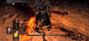 Beat Gwyn, Lord of Cinder - the last boss fight in Dark Souls
