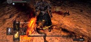 Beat Gwyn, Lord of Cinder - the last boss fight in Dark Souls