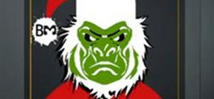 Create a Black Ops Grinch Emblem
