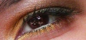 Do a Belle from Beauty and the Beast inspired eye look