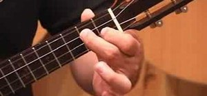 Play a fun ukulele chord progression