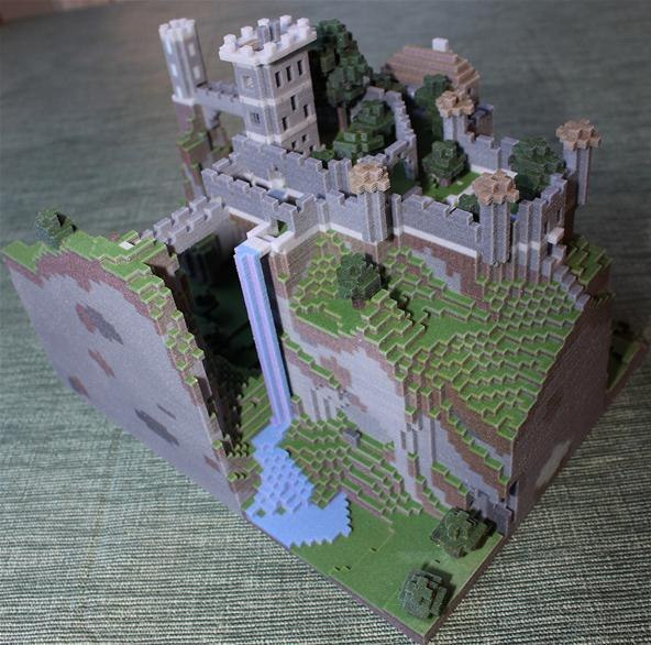 Easy Minecraft Creations http://minecraft.wonderhowto.com/inspiration/win-real-3d-printed-version-your-minecraft-creation-weeks-free-build-challenge-0135376/