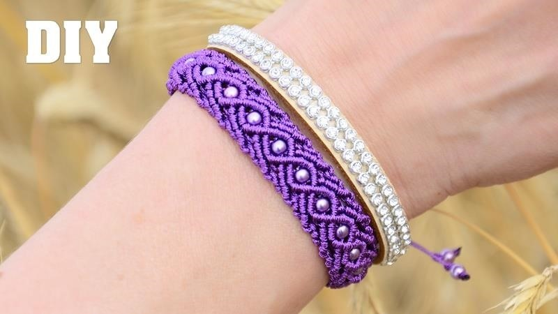 Eternal Wave Bracelet Tutorial