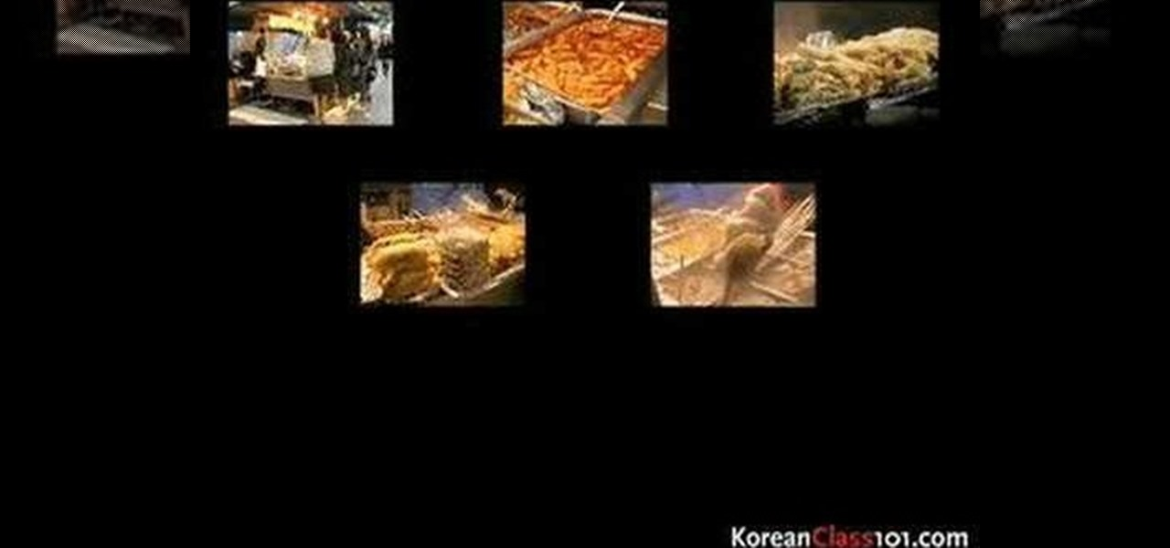 Korean language culture learn how to read speak and for Cuisine pronounce
