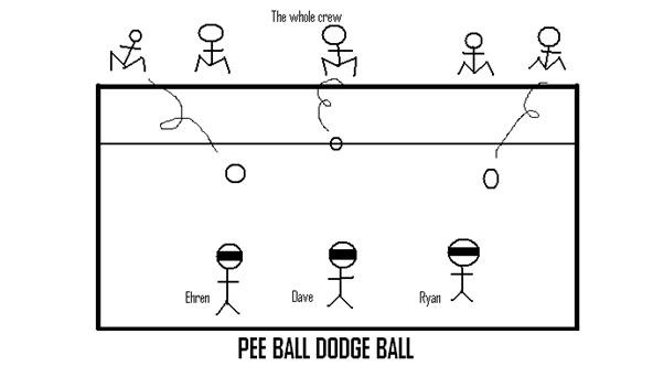 The Pee Ball Dodge Ball