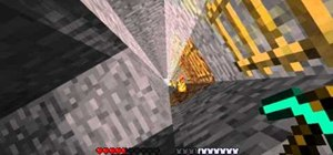 Quickly gather materials in Minecraft