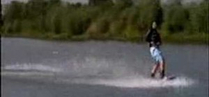 Do a heelside 360 while wakeboarding