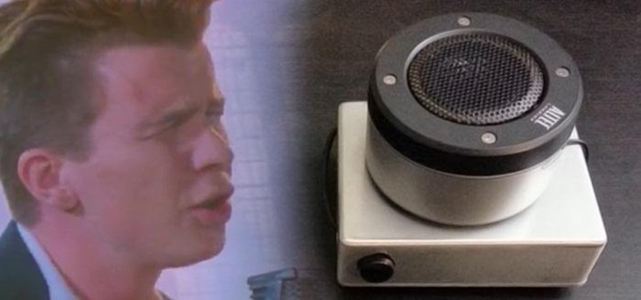 This DIY Arduino Device Rickrolls Anyone Who Walks Near It