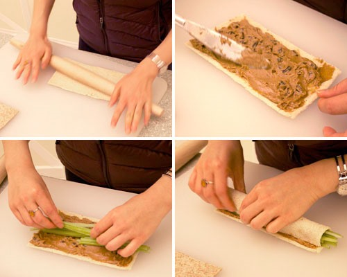 HowTo: Make Peanut Butter Sushi