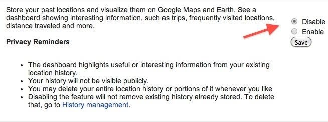 PSA: Google's Keeping Tabs on Your Location & Here's How to Stop Them