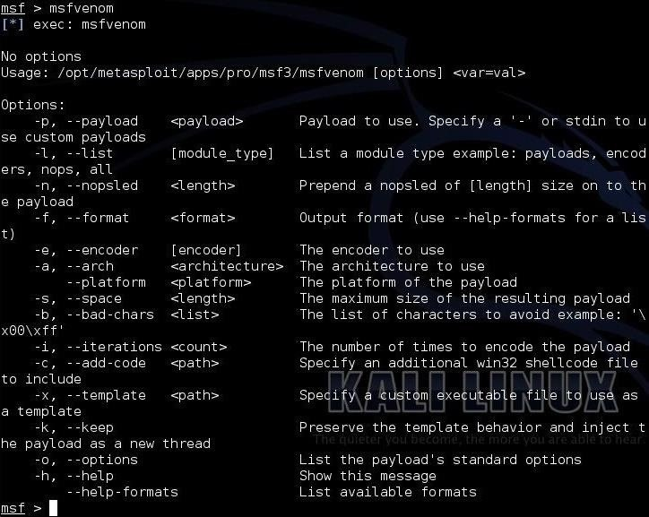 Hack Like a Pro: Metasploit for the Aspiring Hacker, Part 5 (Msfvenom)