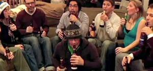 Beer Bottle Christmas Caroling