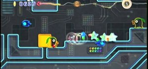 Beat the Tube Town level in Space Land of Kirby's Epic Yarn for Nintendo Wii