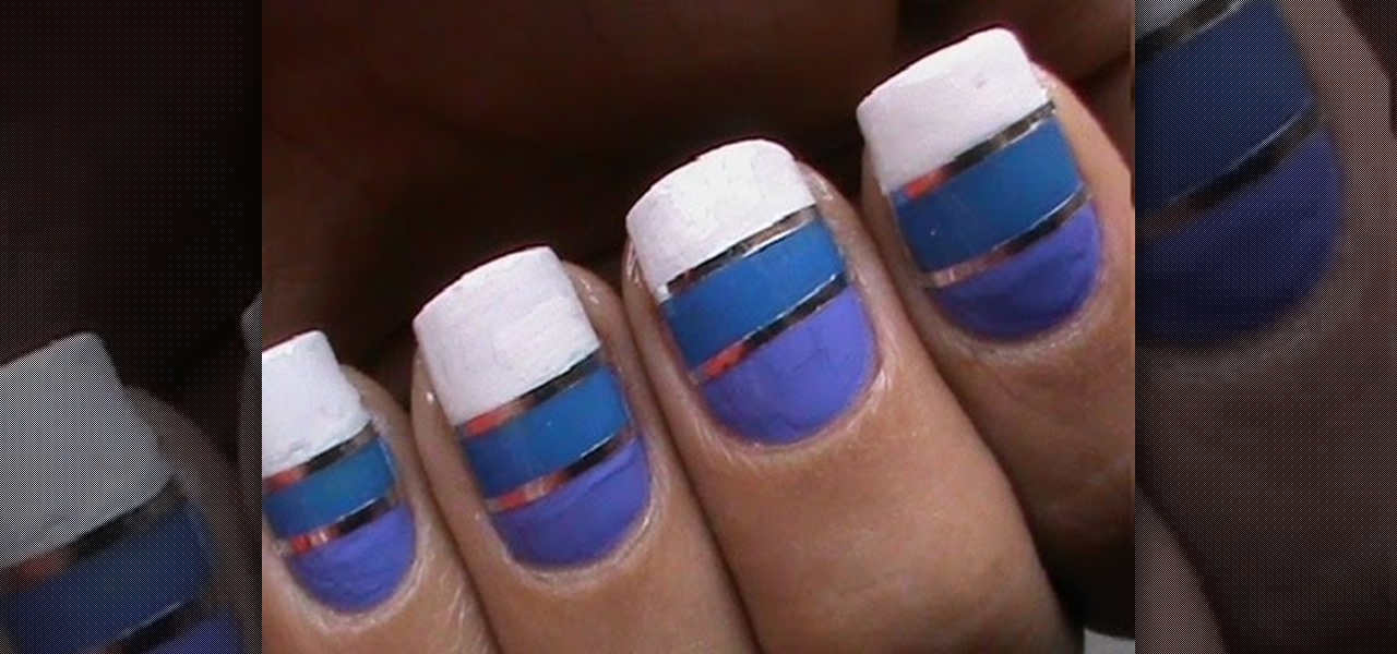 Do Striping Tape Nail Art Designs