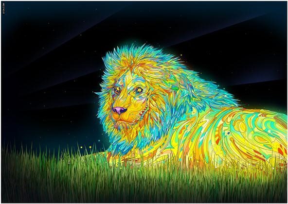 The Lion King of Colors