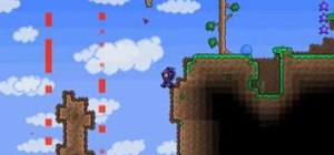 Build an infinite lava fall in Terraria