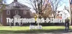 Dartmouth Tour Group Prank