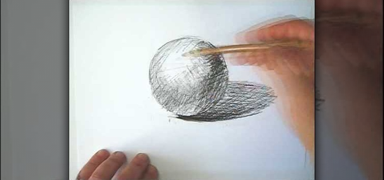 How To Draw A Sphere In 3d Drawing Illustration