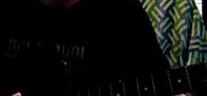 Play the batman theme on yuor guitar