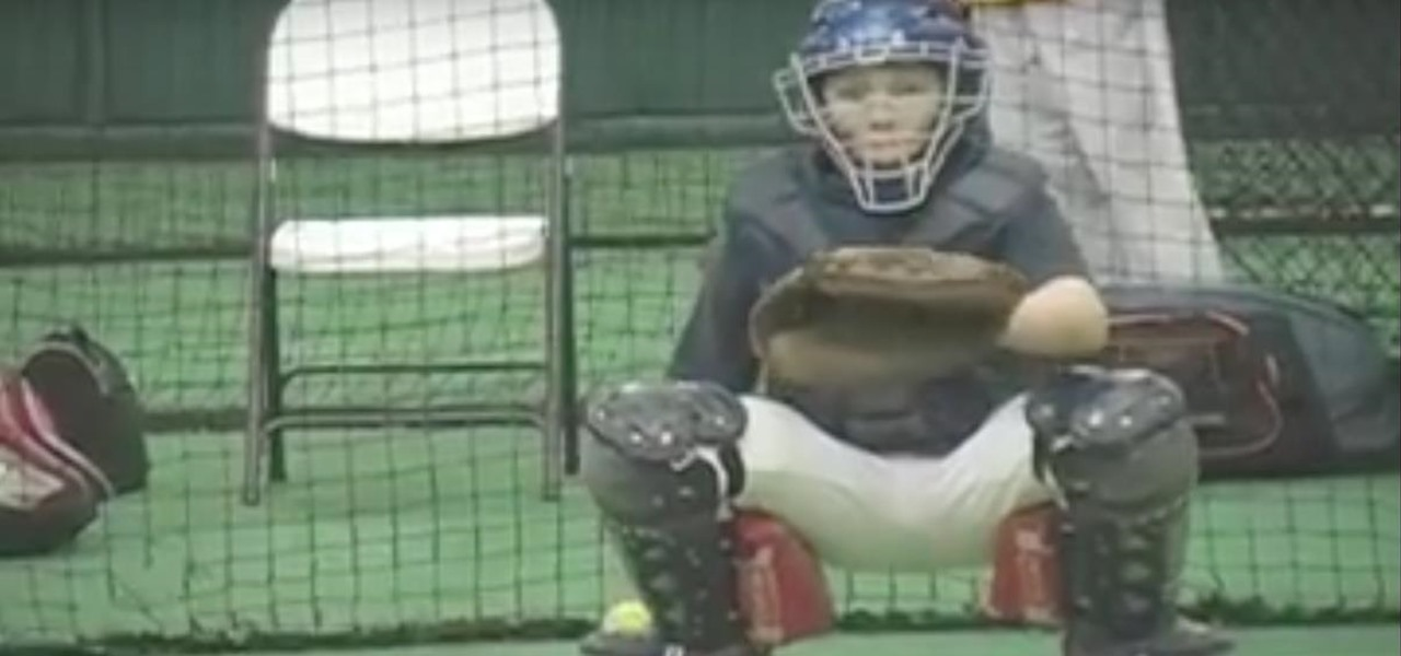 Teach Mental Tips to Young Baseball Catchers