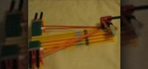 Make a mini crossbow out of K'nex