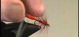 Tie a Soldier Palmer and the Zulu for fly fishing