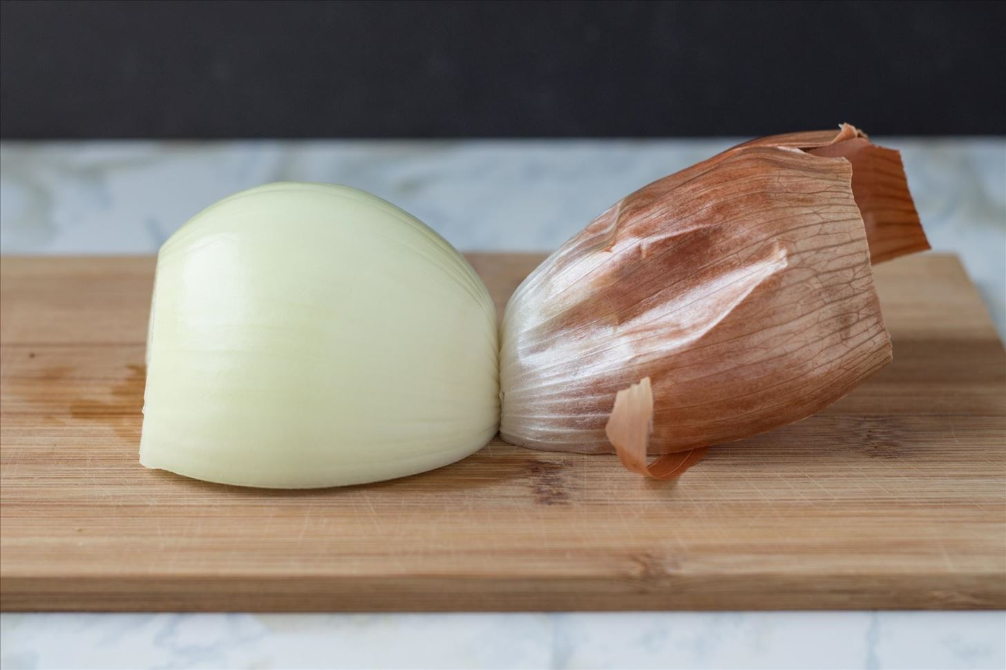 Dice an Onion Faster by Using Its Root as a Handle