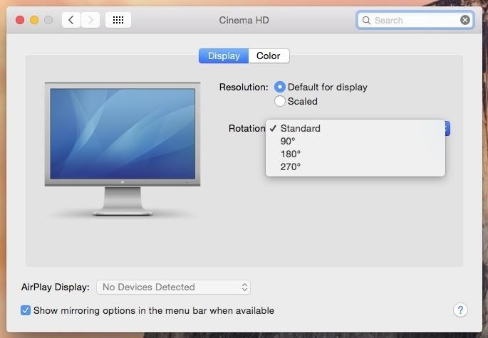 How to Rotate the Display on Linux, Mac, & Windows Computers