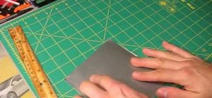 Make a holder for your X-acto knives out of duct tape