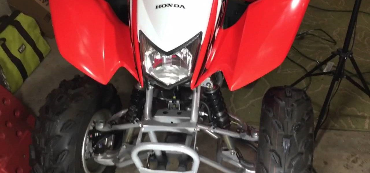 Check the Front Brakes on a Honda TRX 250X