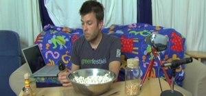 Make healthy popcorn