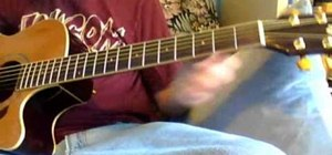 "Play ""Give Up The Ghost"" by Radiohead on guitar"