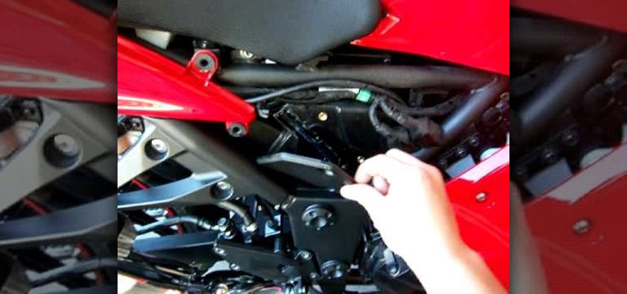 How To Change Your Air Filter On A 2008 Ninja Motorcycle « Auto
