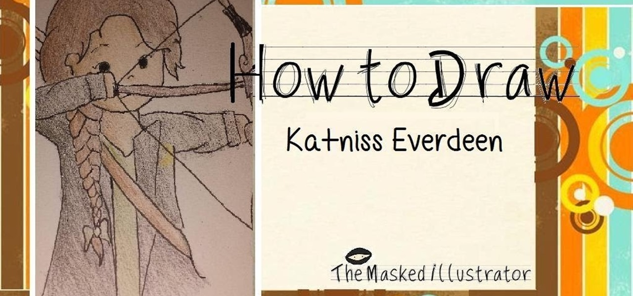 How To Draw Katniss Everdeen The Hunger Games Drawing