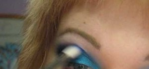 Create a Sagittarius inspired eye look